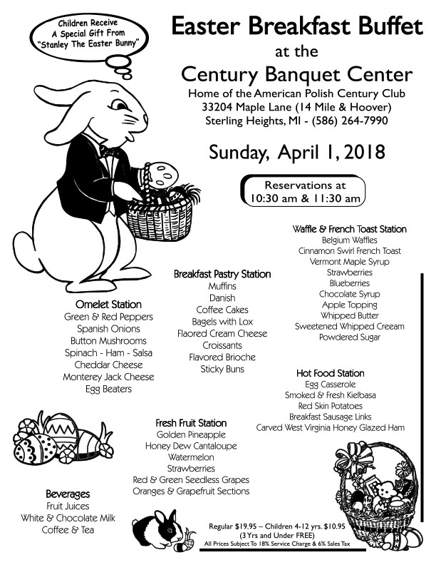 Easter Breakfast Buffet @ Sterling Heights | Michigan | United States
